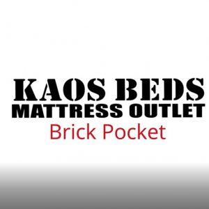 6.0 Brick Pocket 1000 Mattress
