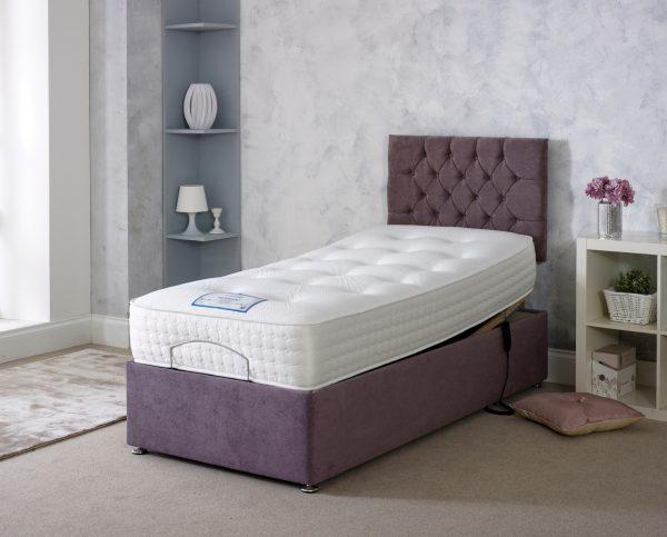 Derwent Adjustable Bed With Mattress