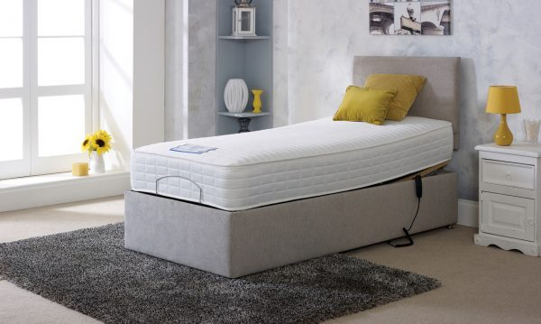 Beau Adjustable Bed With Mattress
